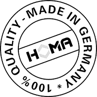 HOMA – 100% Quality · Made in Germany